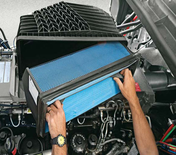 فیلتر های صنعتی در موتور های دیزلی