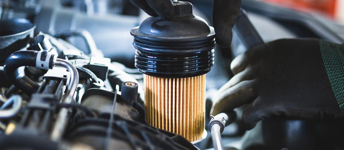 فیلتر سوخت در ماشین آلات